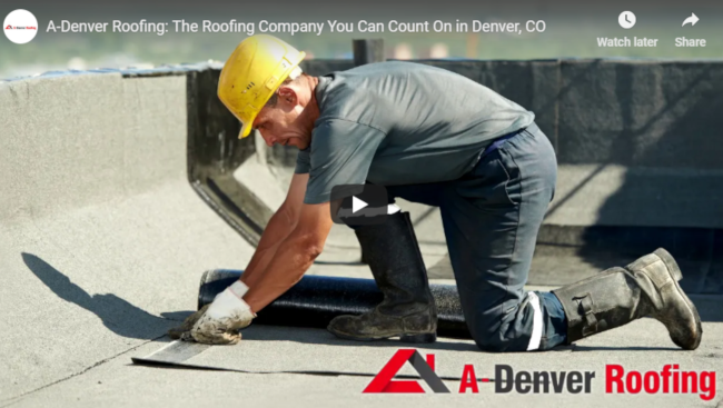 A-Denver Roofing: The Roofing Company That Provides Excellent Workmanship in Denver, CO