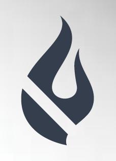 PVC single-ply membrane fire resistant logo