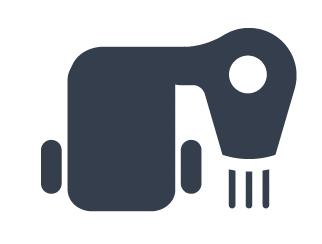 single-ply PVC heat weld logo