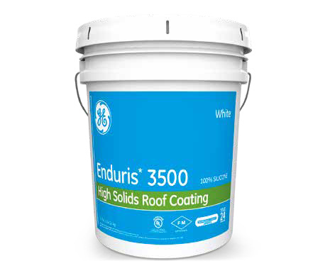 GE Enduris commercial roofing coatings